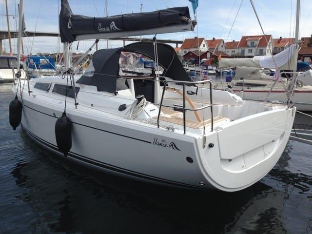 Mässerbjudande Hanse 315 Demobåt(Ny) 2016