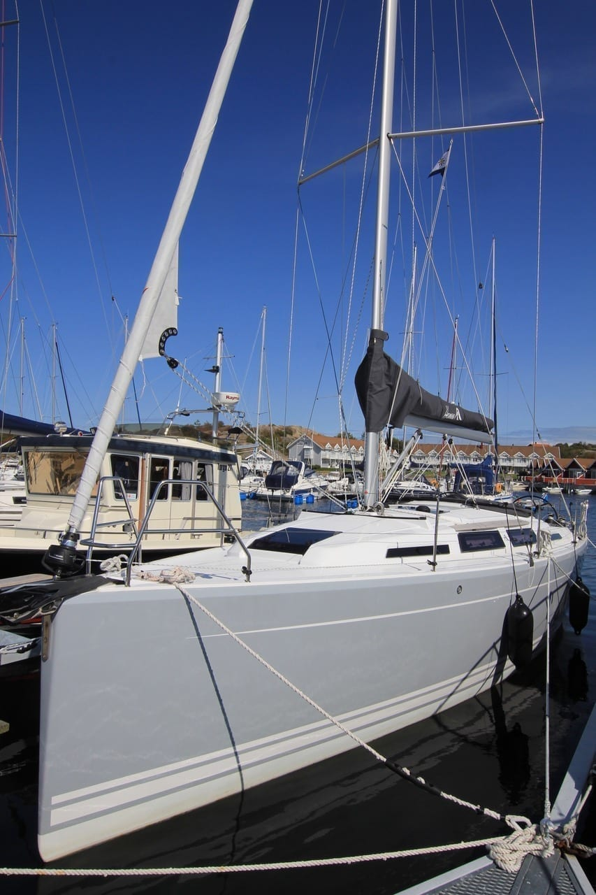 NÄSTAN NY Hanse 345 2017 I Mint Condition
