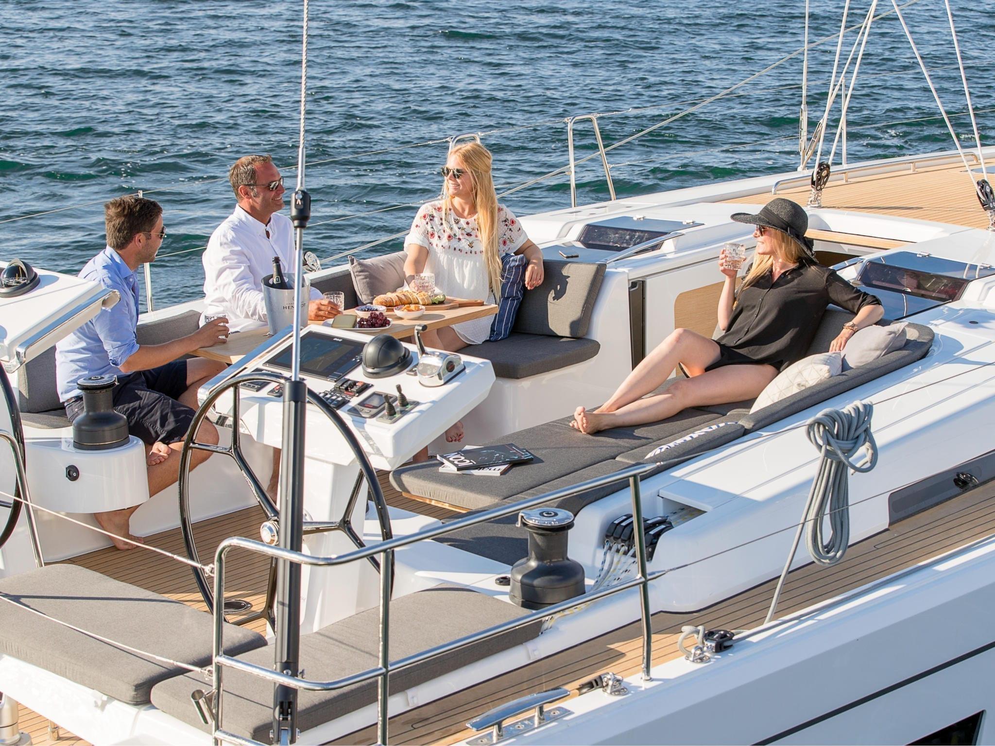 Hanse 548 Test Yachting World 2018