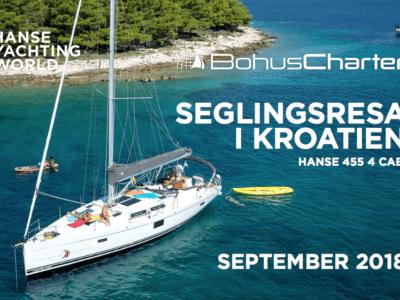 Seglingsresor Kroatien I Hanse 455