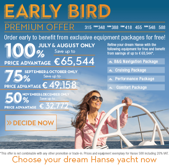 Höstens Hanse Early Bird Offer