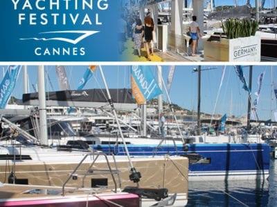2 Världspremiärer Av Hanse Segelbåtar På Båtmässan I Cannes