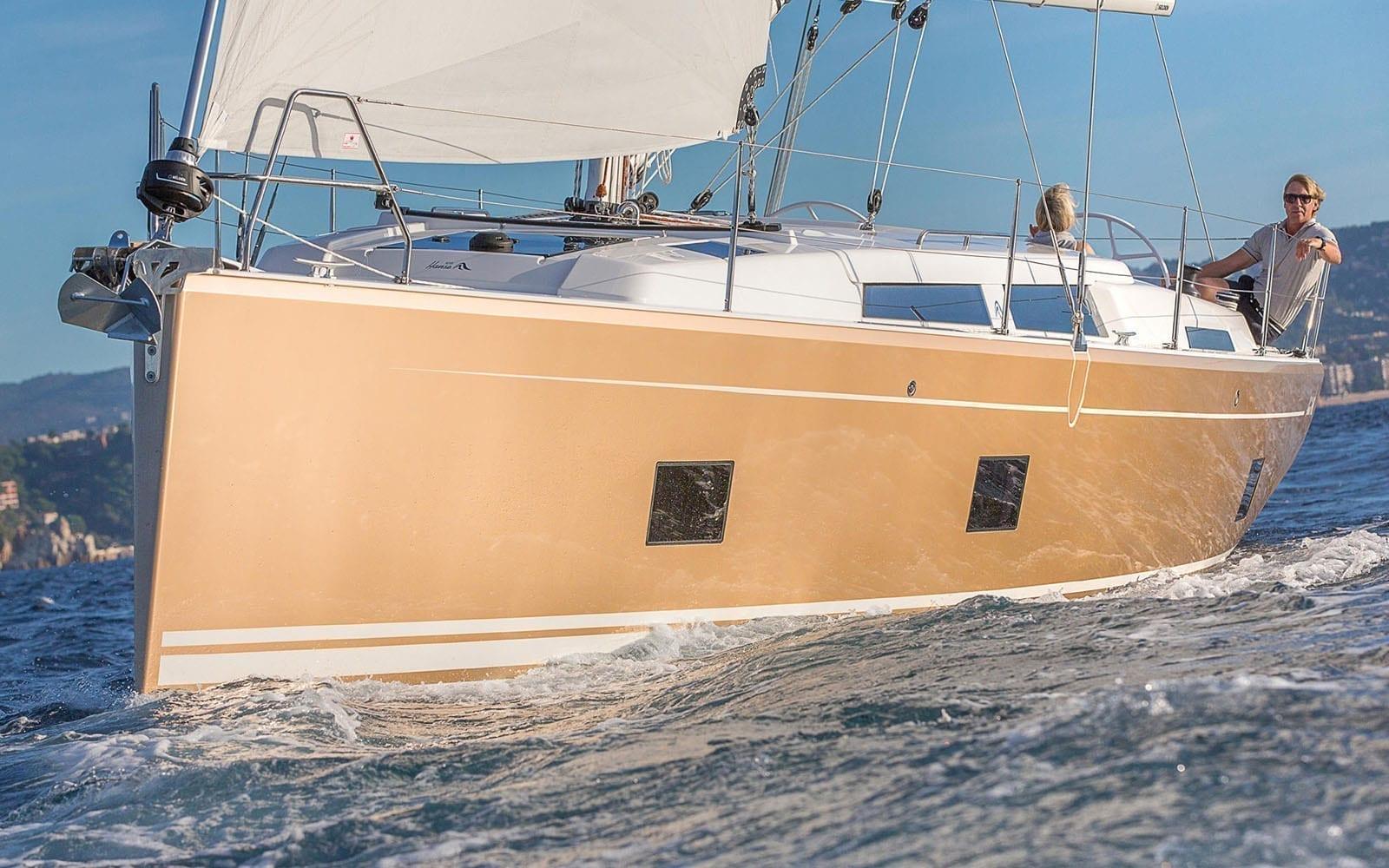 Segelbåt - Hanse 418