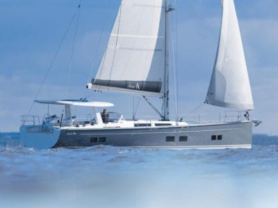 Test Segelbåt – Hanse 588